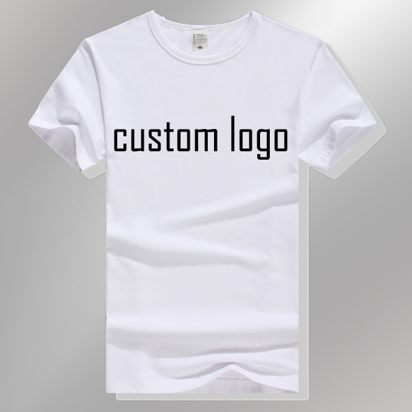 custom print promotional shirt with cotton fabric